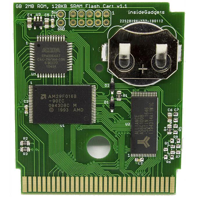 Gameboy 2MB 128KB SRAM Flash Cart (Great for LSDJ)
