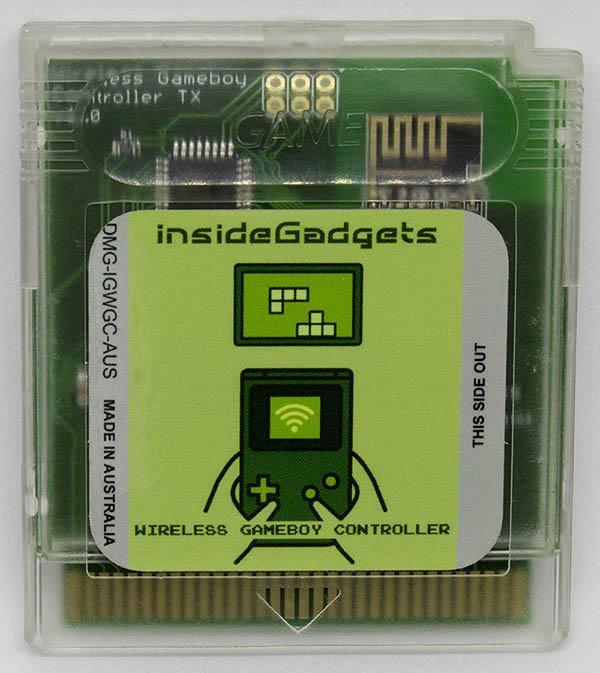 Wireless Gameboy Controller (For PC/RPi, NES, SNES, N64, Gamecube, Wii,  NES/SNES Classic Mini)