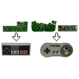 Wireless Gameboy Controller (For PC/RPi, NES, SNES, N64, Gamecube